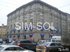 Московский пр. д.25 640 м2